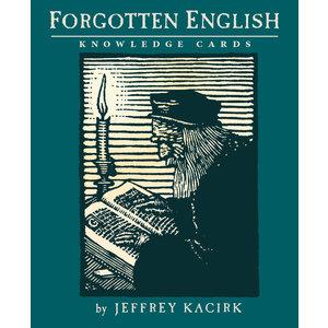 POMEGRANATE KNOWLEDGE CARDS: FORGOTTEN ENGLISH