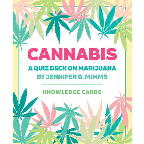 POMEGRANATE KNOWLEDGE CARDS: CANNABIS QUIZ