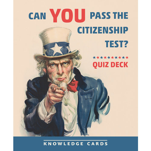 POMEGRANATE KNOWLEDGE CARDS: CAN YOU PASS CITIZENSHIP