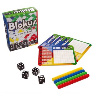 ADVENTURE GAME/ BLOKUS: ROLL & WRITE