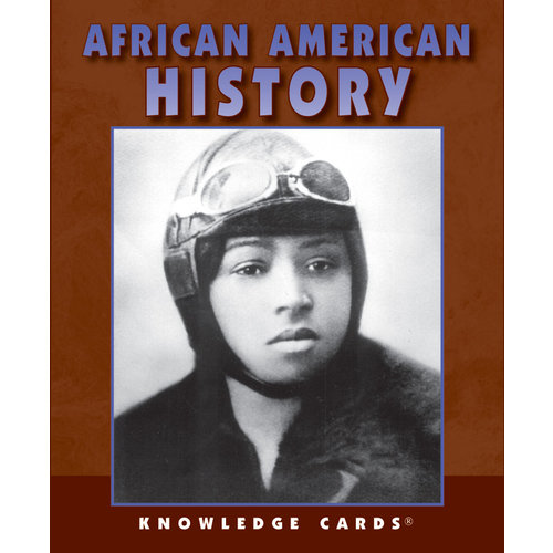 POMEGRANATE KNOWLEDGE CARDS: AFRICAN AMERICAN HISTORY