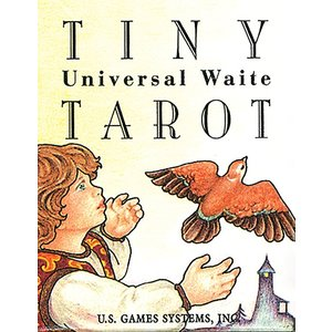 US GAMES SYSTEMS TAROT TINY UNIVERSAL WAITE
