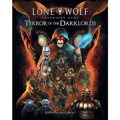 Cubicle 7 THE LONE WOLF ADVENTURE GAME: TERROR OF THE DARKLORDS
