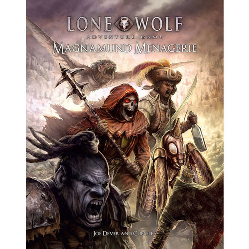 Cubicle 7 THE LONE WOLF ADVENTURE GAME: MAGNAMUND MENAGERIE