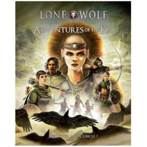 Cubicle 7 THE LONE WOLF ADVENTURE GAME: ADVENTURE OF THE KAI VOLUME 1