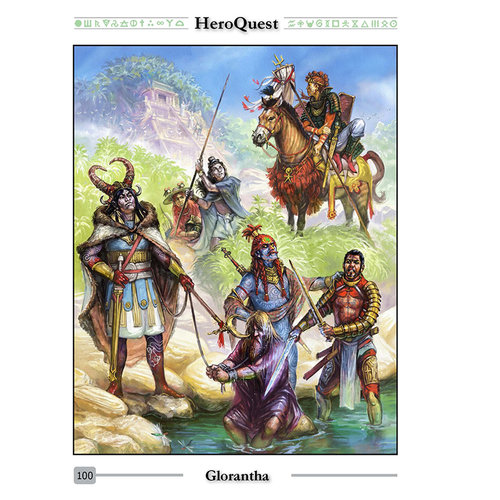 Chaosium HEROQUEST RPG: GLORANTHA COMPLETE