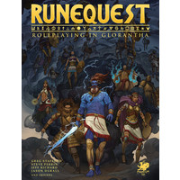 RUNE QUEST: ROLE PLAYING IN GLORANTHA - CORE RULEBOOK
