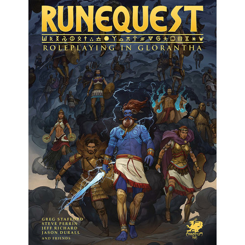 Chaosium RUNE QUEST: ROLE PLAYING IN GLORANTHA - CORE RULEBOOK