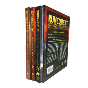 Chaosium RUNE QUEST: ROLE PLAYING IN GLORANTHA - DELUXE SLIPCASE SET