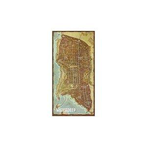 Gale Force Nine D&D 5E: WATERDEEP - CITY MAP