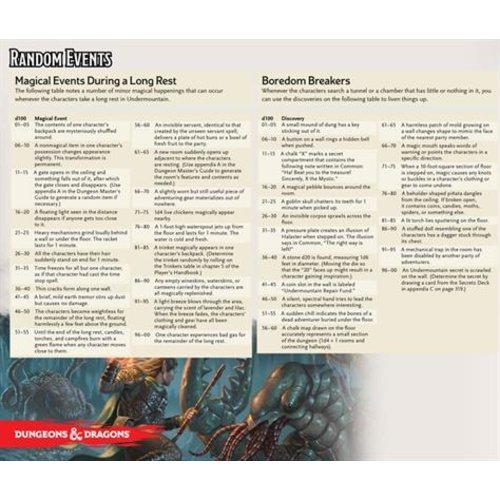 Gale Force Nine D&D 5E: DUNGEON OF THE MAD MAGE DM SCREEN