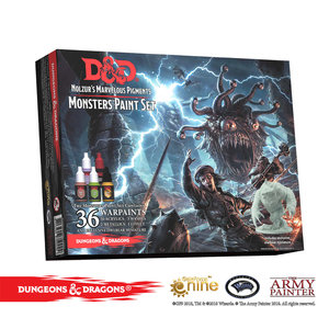 The Army Painter D&D: NOLZUR'S MARVELOUS PIGMENTS - MONSTER PAINT SET