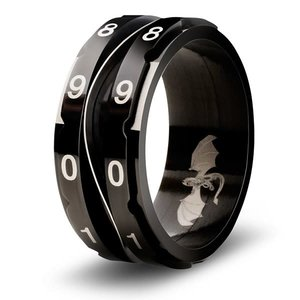 Critsuccess LLC CLICKING LIFE COUNTER RING, BLACK