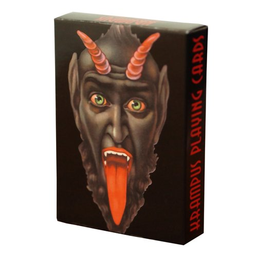 LAST GASP KRAMPUS PLAYING CARDS