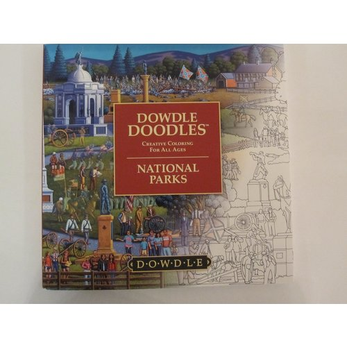 Dowdle Folk Art COLORING BOOK: DOWDLE DOODLES - NATIONAL PARKS