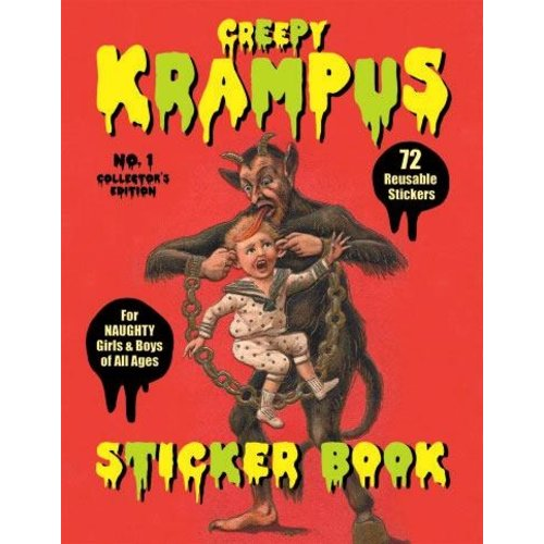 LAST GASP KRAMPUS STICKER BOOK