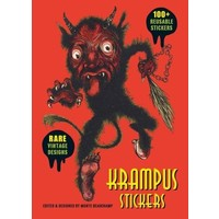 KRAMPUS STICKER COLLECTION TIN