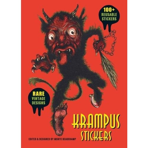 LAST GASP KRAMPUS STICKER COLLECTION TIN
