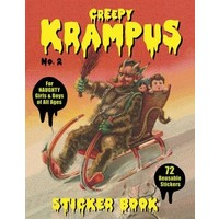 KRAMPUS STICKER BOOK 2