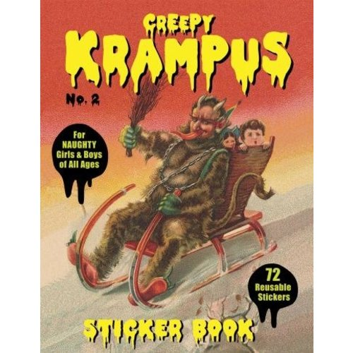 LAST GASP KRAMPUS STICKER BOOK 2
