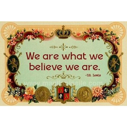 MAGIK MISSILE MAGNET: WE ARE WHAT WE BELIEVE