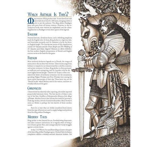 Chaosium KING ARTHUR RPG: PENDRAGON