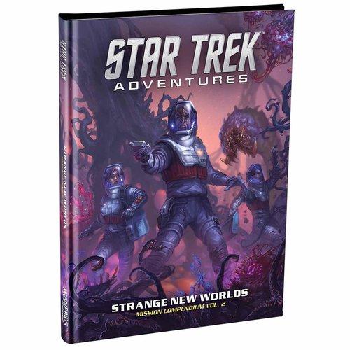 Modiphius STAR TREK ADVENTURES: STRANGE NEW WORLDS - MISSION COMPENDIUM VOL 2