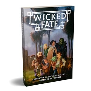 Magpie Games FATE CORE: WICKED FATE