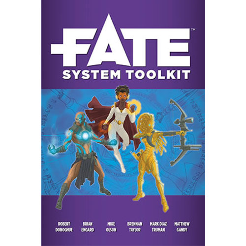 Evil Hat Productions FATE CORE: FATE SYSTEM TOOLKIT