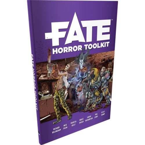 Evil Hat Productions FATE CORE: FATE HORROR TOOLKIT
