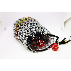 DICE BAG CHAIN MAIL (Assorted Steel/Brass/Copper)