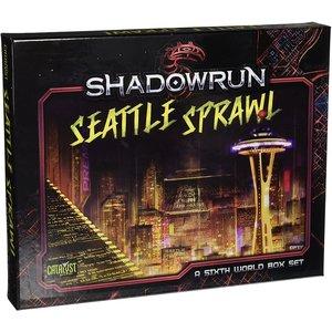 Catalyst Game Labs SHADOWRUN: SEATTLE SPRAWL BOX SET
