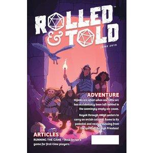 Diamond Comic Distributors ROLLED & TOLD MAGAZINE #10