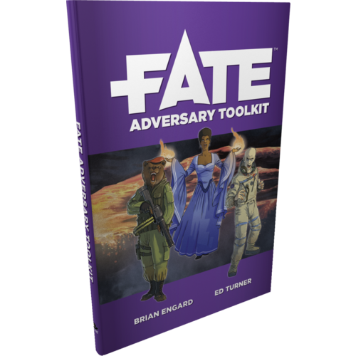 Evil Hat Productions FATE CORE: FATE ADVERSARY TOOLKIT