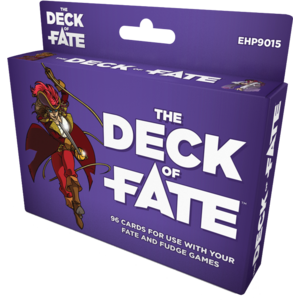 Evil Hat Productions FATE CORE: THE DECK OF FATE