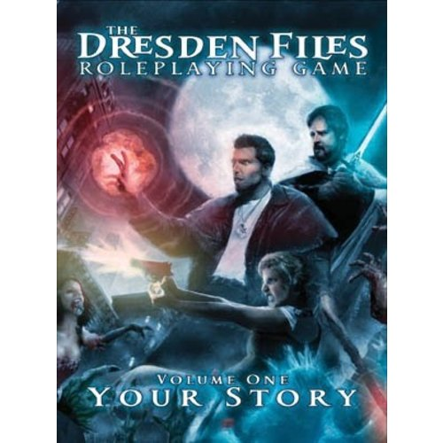 Evil Hat Productions THE DRESDEN FILES: V1 - YOUR STORY