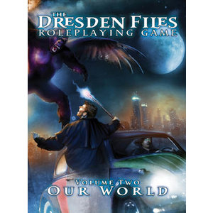 Evil Hat Productions THE DRESDEN FILES: V2 - OUR WORLD