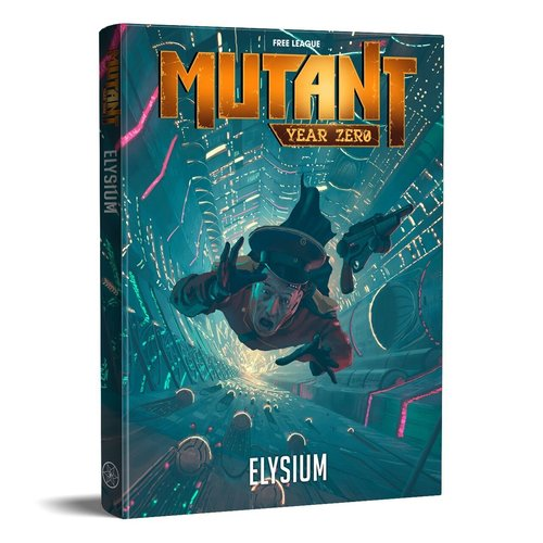 Free League Publishing MUTANT: YEAR ZERO - ELYSIUM