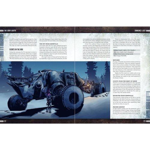 Free League Publishing MUTANT: YEAR ZERO - THE GRAY DEATH