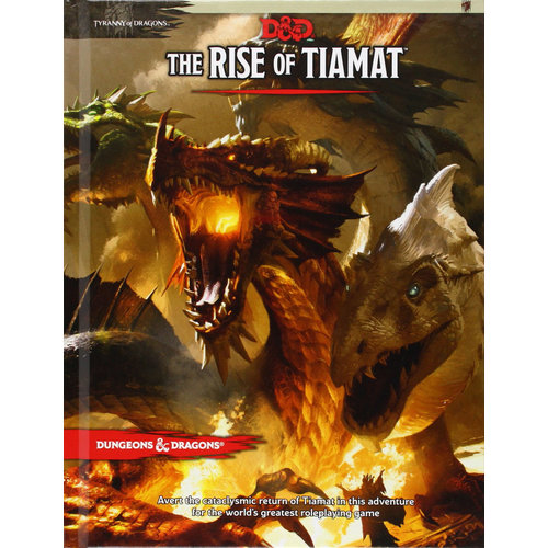 Wizards of the Coast D&D 5E: RISE OF TIAMAT