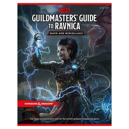 Wizards of the Coast D&D 5E:  GUILDMASTERS' GUIDE TO RAVNICA - MAP