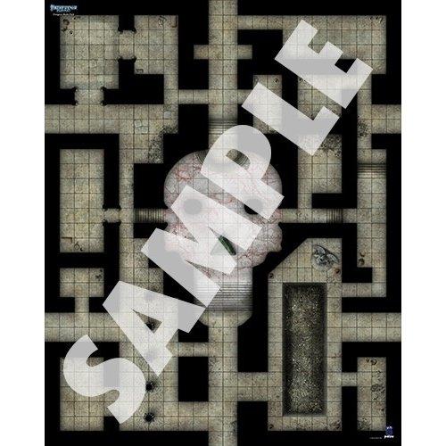 Paizo Publishing PATHFINDER FLIP-MAT: MULTI DUNGEONS
