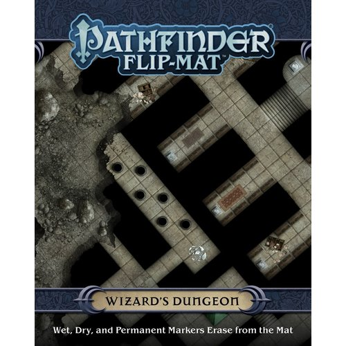 Paizo Publishing PATHFINDER FLIP-MAT: WIZARDS DUNGEON