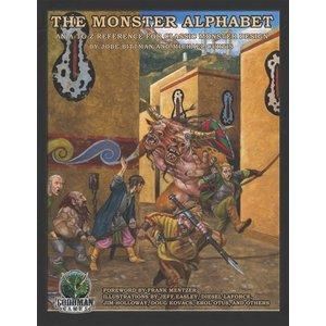 Goodman Games MONSTER ALPHABET HC