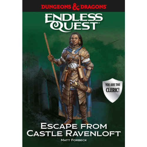 Random House D&D ENDLESS QUEST: ESCAPE FROM CASTLE RAVENLOFT (HARDCOVER)