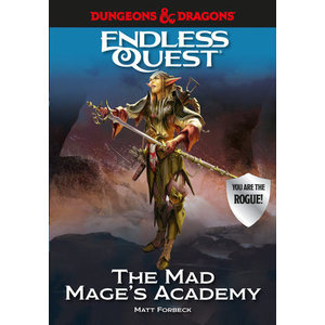Random House D&D ENDLESS QUEST: THE MAD MAGE'S ACADEMY (HARDCOVER)