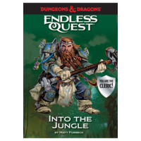 D&D ENDLESS QUEST: INTO THE JUNGLE (SOFTCOVER)