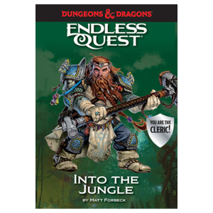 Random House D&D ENDLESS QUEST: INTO THE JUNGLE (SOFTCOVER)