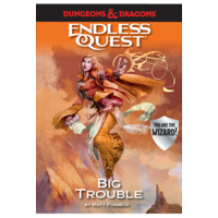 D&D ENDLESS QUEST: BIG TROUBLE (SOFTCOVER)