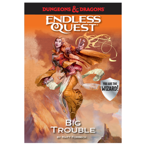 Random House D&D ENDLESS QUEST: BIG TROUBLE (SOFTCOVER)